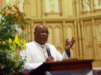 In this file picture,Head of the Catholic Church in South Africa Cardinal Wilfrid Napier comemmorates the late Archbishop Denis Hurley's 9th death anniversary at the Emmanuel Cathedral Church in Durban on 10 February 2013. If Catholic cardinals want the next pope to embody the complexities and contradictions of the modern …