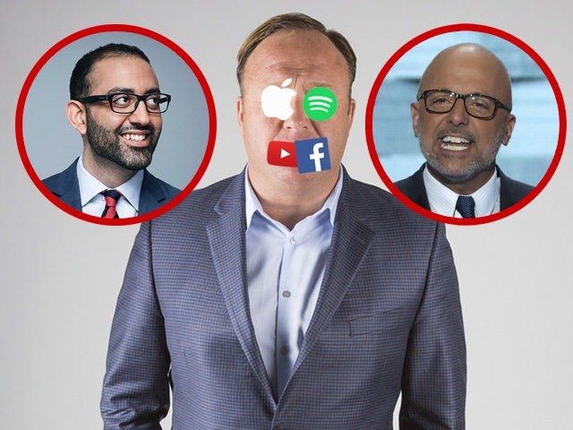 Alex Jones and Infowars banned from tech platforms at the behest of CNN and Democrats