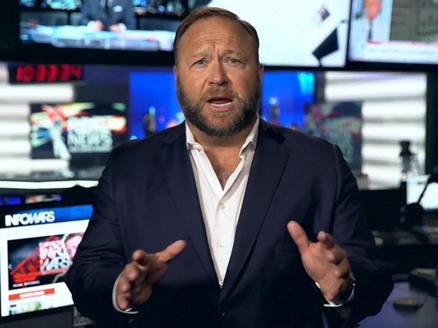 Alex Jones, host of InfoWars.