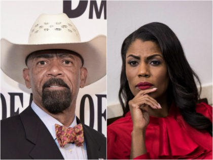 Sheriff David Clarke and Omarosa Manigault
