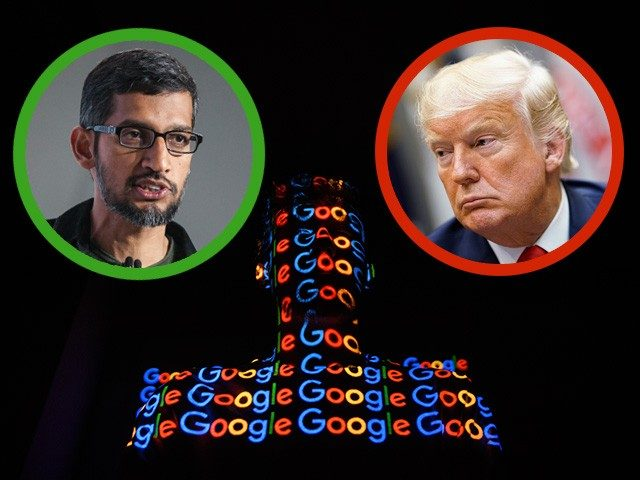 Update:  Google & Breitbart Scoop Google-trump-640x480