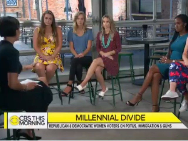 "CBS 'This Morning' talked gun laws with a panel of six ""Millennial Women,"" one of whom owned a gun, voted for Hillary Clinton, and supports more gun control."
