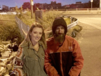 Kate McClure rescued Johnny Bobbitt from the streets after she ran out of gas and he used his last $20 to help her.