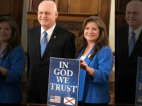 "State Rep. David Standridge, R-Hayden, sponsored the original legislation that gives public bodies the right to display the ""In God We Trust"" motto. The Alabama law became effective July 1. (Twitter / Rep David Standridge@JudgeStandridge)"