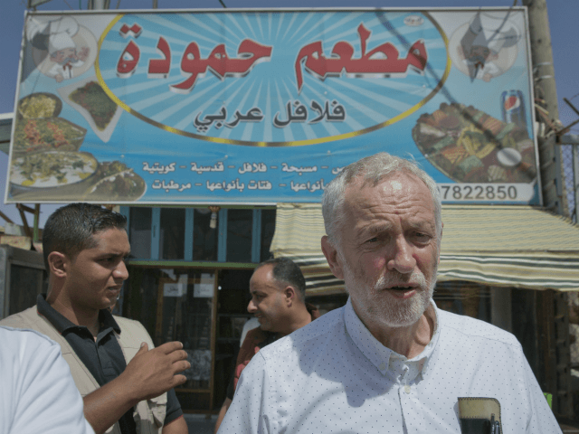 UK Labour Party leader Corbyn trades barbs with Netanyahu on Mideast violence
