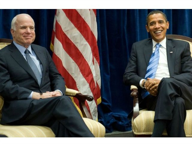 John McCain Asked to Be Eulogized by Obama, George W. Bush