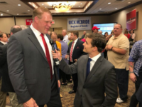 A professional wrestler has won his race to become the Republican mayor of Knox County, Tennessee. The hulking six-foot-eight, 300-pound Glenn Jacobs easily defeated his Democrat opponent on Thursday in the Knox County mayoral race, Knox News reported.