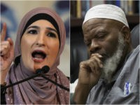 Immigration activist Linda Sarsour and Imam Siraj Wahhaj