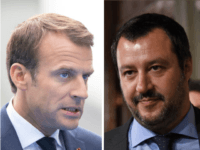 macron and salvini