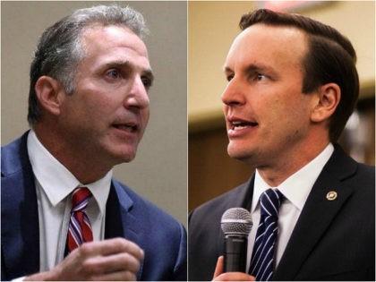 Matthew Corey and Chris Murphy - Senate race Connecticut
