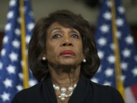 Waters: Trump and Supporters Want to Ensure Blacks Don't Have Power