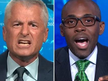 CNN contributors Philip Mudd (L) and Paris Dennard (R).