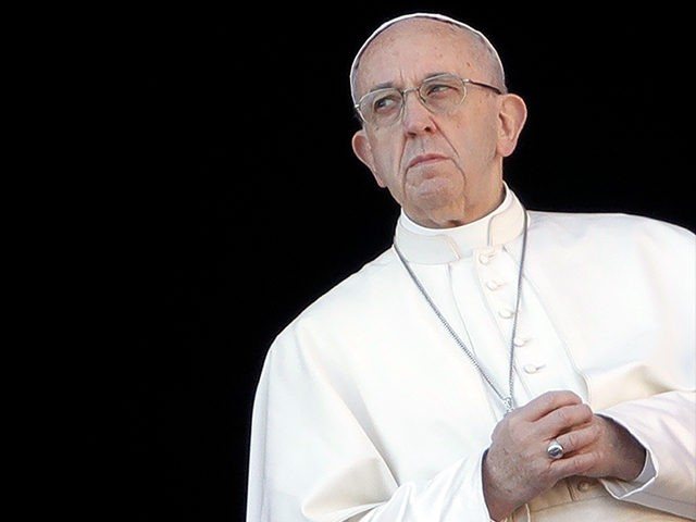 Pope meets with leaders of besieged US Catholic Church