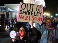 Protests at Berkeley against free speech