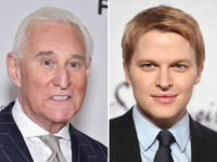 Roger Stone (L) and Ronan Farrow (R).