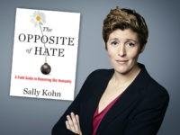 "CNN commentator Sally Kohn, the author of ""The Opposite Of Hate: A Field Guide to Repairing Our Humanity."""