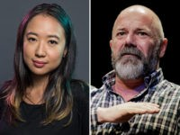 Sarah Jeong of the New York Times and Andrew Sullivan, blogger and editor of The Dish.