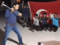 Turks Smashing iPhones, American Products to Protest Donald Trump
