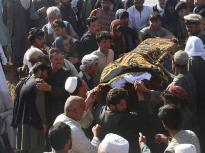 Afghans bury victims of mosque attack as toll rises to 35
