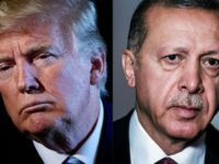 US President Donald Trump and his Turkish counterpart Recep Tayyip Erdogan