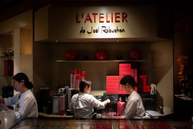 Joel Robuchon's most famous innovation -- the Atelier or Workshop style restaurant -- was inspired by Japan