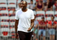 Patrick Vieira saw his Nice side beaten 1-0 at home by Reims