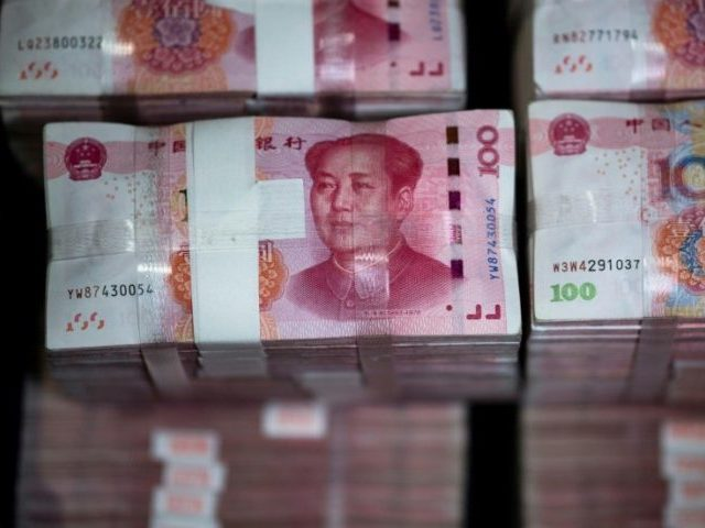 A weaker yuan makes Chinese exports cheaper cushioning the impact of the tariffs imposed by US President Donald Trump