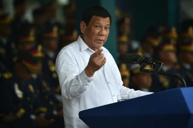 Duterte faced global condemnation in September 2016 when he likened his crackdown on drugs to Adolf Hitler's genocidal drive in World War II