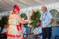 Prime Minister of Tonga Akilisi Pohiva has challenged fellow Pacific leaders to lead by example in challenging obesity