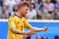Belgian star midfielder Kevin de Bruyne is undergoing tests on his right knee after suffering an injury in training for his club Manchester City
