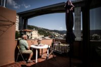 Genoa, ensconced between the sea and the mountains, is criss-crossed with viaducts and tunnels due to its rugged terrain