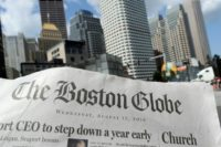 "More than 200 US news organizations have joined a campiagn led by the Boston Globe to counter President Donald Trump's contention that the media is the ""enemy of the people"""