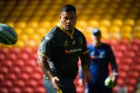 The Wallabies had been relying on the young tighthead to make an impact off the bench as they seek to end New Zealand's 15 years of Bledisloe domination