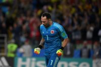New arrival: Colombian goalkeeper David Ospina joined Napoli from Arsenal on Friday