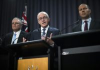Australia's Prime Minister Malcolm Turnbull has been forced to shelve plans to embed carbon emissions targets into law