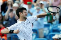 Novak Djokovic, who came up empty in five prior Cincinnati finals, defeated seven-time winner Roger Federer 6-4, 6-4 in the final