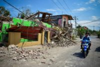 Lombok was already reeling from two deadly quakes on July 29 and August 5 that killed nearly 500 people