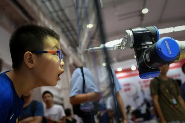 Robot wars: China shows off automated doctors, teachers and combat stars