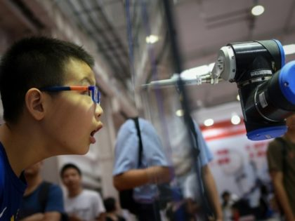 By 2020, China is aiming for half of the industrial robots sold in the country to be made by Chinese companies, up from 27 percent currently -- with a target of 70 percent by 2025
