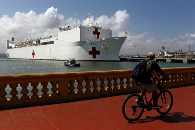 US hospital ship to visit Colombia amid Venezuela crisis