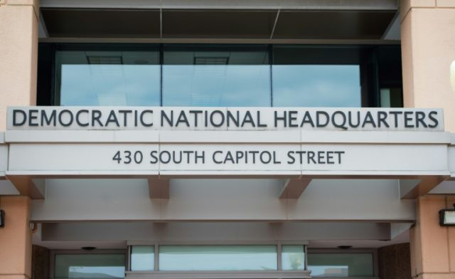 The headquarters of the Democratic National Committee (DNC) in Washington