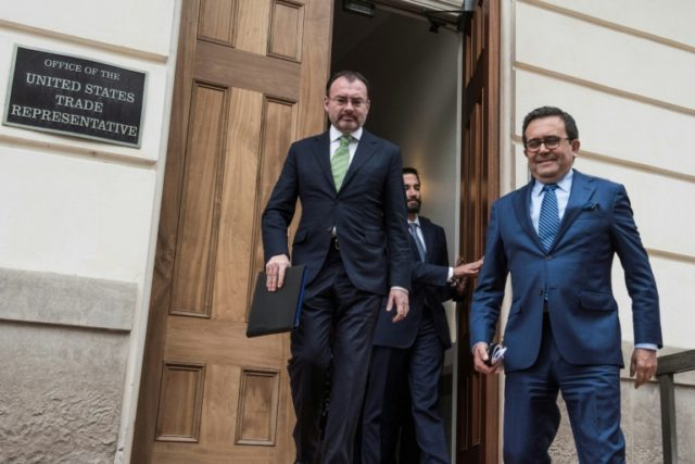 U.S.  and Mexico Reach a Preliminary Trade Deal