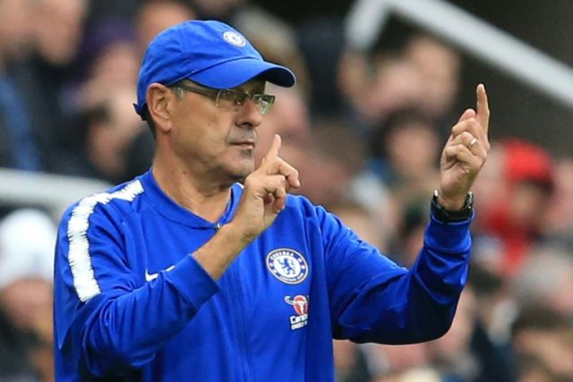 Maurizio Sarri is thriving without Chelsea's England stars