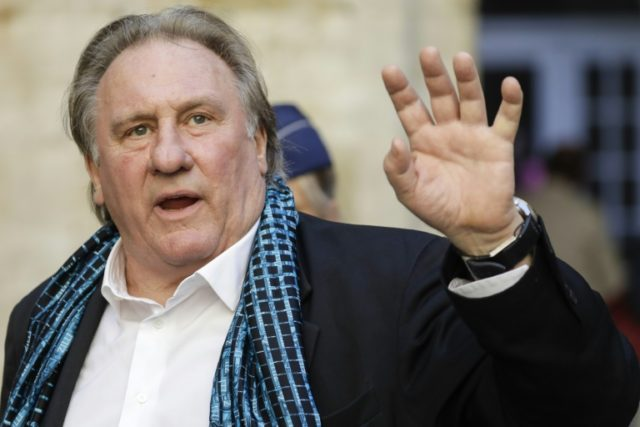 Actor Gérard Depardieu accused of rape