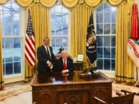 Andy Khawaja in the Oval Office.