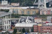 Cars plunge as Italian highway bridge collapses; 20 killed