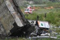 """The Latest: Survivor of Italy bridge collapse: """"I flew away"""""""