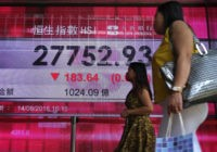 Asian shares mostly lower despite easing fears over Turkey