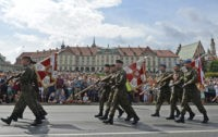 Poland marks Army Day with parade, call for US military base