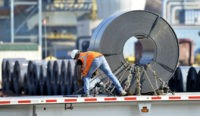 US industrial production edged up 0.1 percent in July